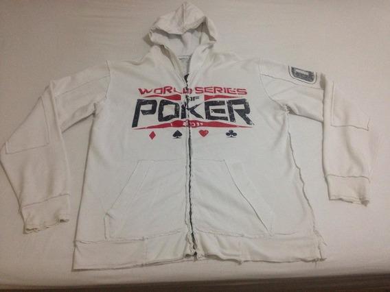 Casaco World Series Of Poker Affliction Xl Pouco Usado R$146