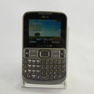 Celular 4 Chips Lg C299 Câmera Rádio Fm - Usado