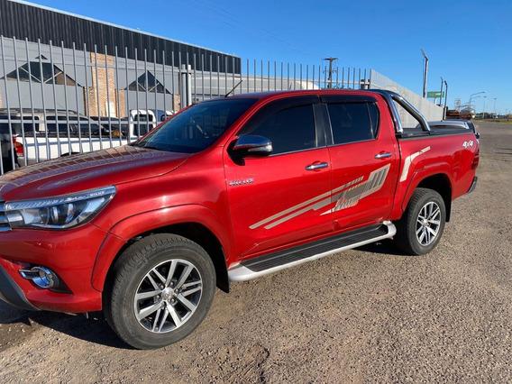 Toyota Hilux 4x4 2.8 Tdi Srx Aut 2017 (agencia Todo Camion)