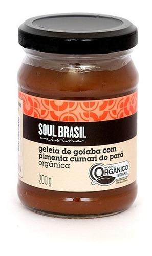 Geleia Goiaba Com Pimenta Cumari Do Pará 200 G - Soulbrasil