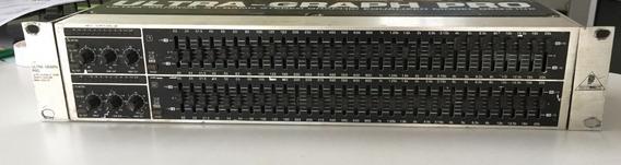 Equalizador Ultra-graph Pro Behringer Geq 3102 31 Bandas