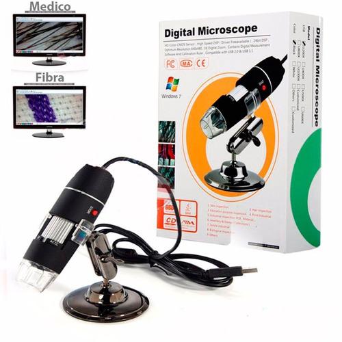 Potente Y Nítido Microscopio Digital Hd Usb 500x Zoom Optico