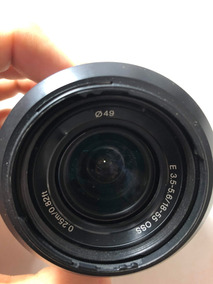 Lente Sony Alpha Nex 18 - 55 Mm F/3.5-5.6 Oss Sel1855