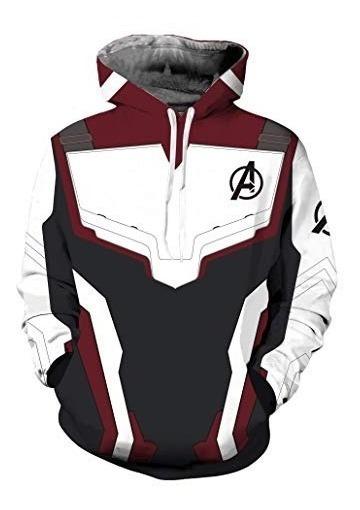 Avengers Endgame Sudadera Talla Extra Unisex Capitan America