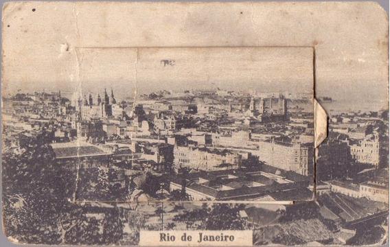 Rio De Janeiro - Álbum Com 10 Pequenos Postais - 09071921