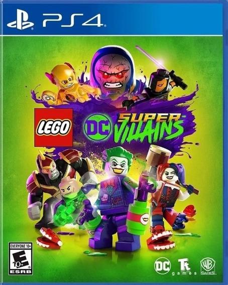 Lego Dc Super Viloes Ps4 Original - Jogo Permanente