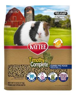 Heno Timothy Complete Alimento Cobayos Kaytee Pellets 2.2kg