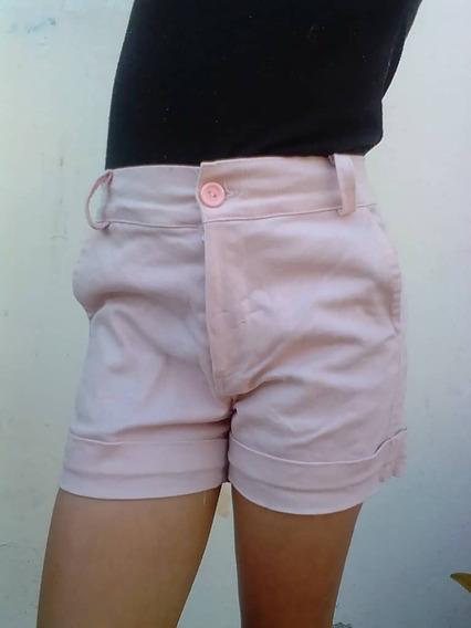 Shorts Para Niña En Dril Strech