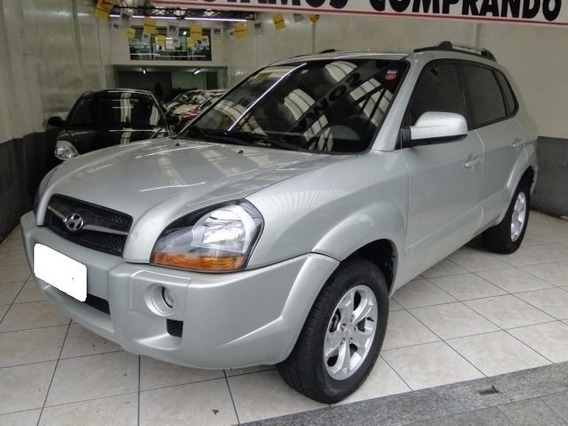 Hyundai Tucson Gls 2.0 Prata Mpfi 16v 143cv 2wd Flex 4p Aut.