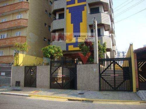 Apartamento À Venda, 56 M² Por R$ 185.000,00 - Tupi - Praia Grande/sp - Ap0397