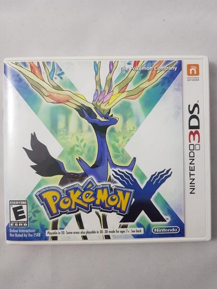 Pokémon X 3ds Mídia Física Pronta Entrega