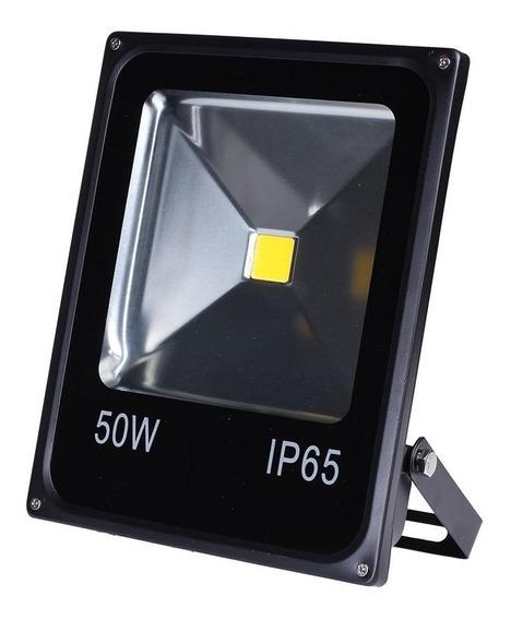 Refletor Led 50w 24v Branco - Ip65 - Dc / Cc