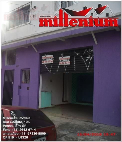 Comercial Para Aluguel, 0 Dormitórios, Penha De França - São Paulo - 519