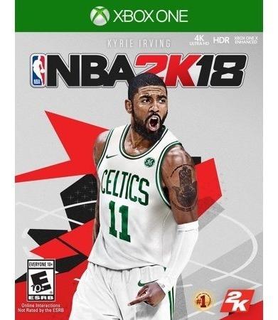 Jogo Xbox One Nba 2k18