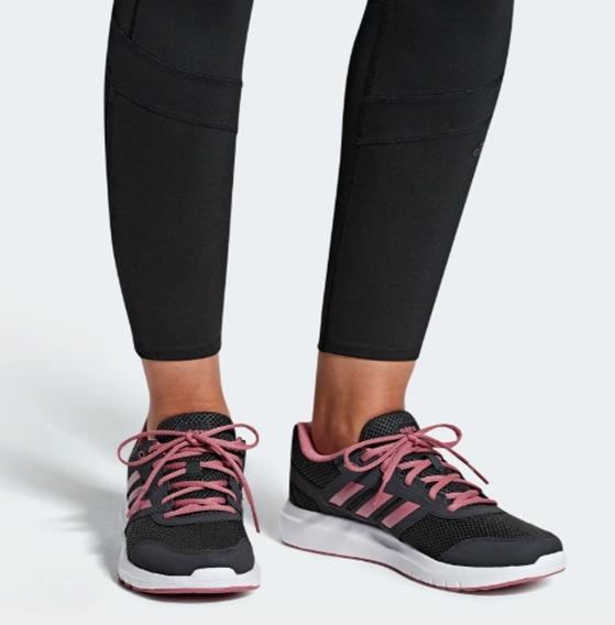 Tenis adidas Duramo Lite 2.0 Dama Negro-rosa Run/training