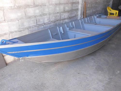 Barco Aluminio 5m+ Carreta  E Motor Hidea 15