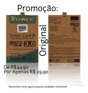 Cartão De Memória 64gb Micro Sd Classe 10 Ultra 3.0 Promoção