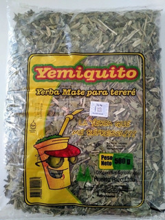 Yerba Mate Canchada Yemiquito X 1 Kilo