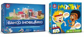 Brinquedos Menina Banco Imobiliário + Jogo Imitatrix Estrela