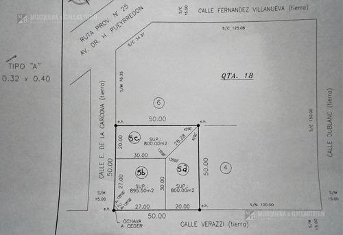 Mosquera Y Gallastegui - Terreno En Villa Rosa