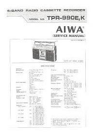 Manual De Serviço Aiwa (muitos Modelos)
