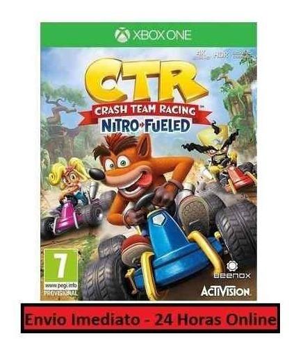 Crash Racing Jogo + Todo Conteúdo Extra Xbox One Digital