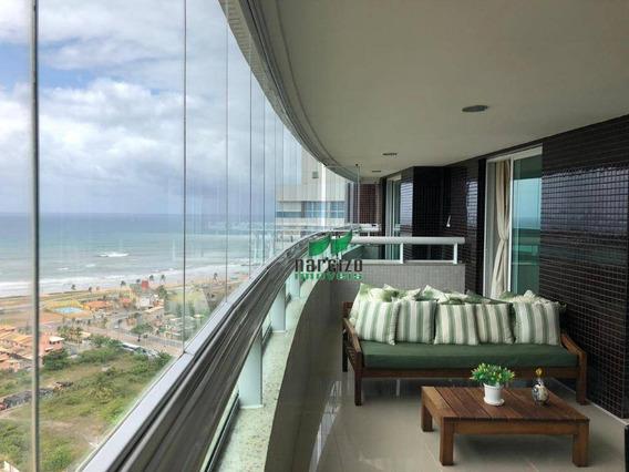 Apartamento Com 4 Dormitórios À Venda, 204 M² Por R$ 1.300.000,00 - Patamares - Salvador/ba - Ap1889