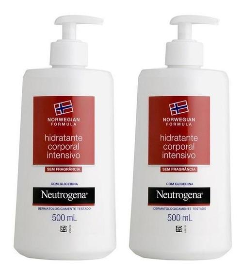 Kit Com 2 Hidratantes Corporal Neutrogena Norwegian Body 500