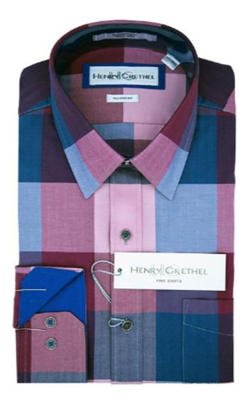 Camisa Para Caballero Henry Grethel Original Talla Ch