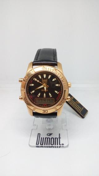 Relógio De Pulso Dumont Modelo Dn11176p