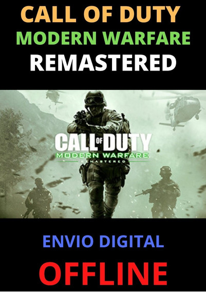 Call Of Duty - Modern Warfare Remastered -pc Digital Offline