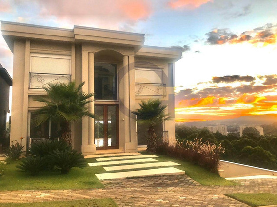 Tamboré 10 | Casa Nova | Casa Clean | Borda Infinita | Vista Para Mata - Cnc1045