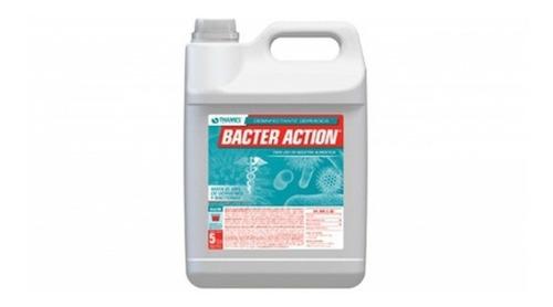 Imagen 1 de 5 de Limpiador Desinfectante Bacter Action Thames X 5lt