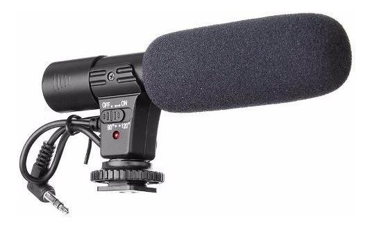 Microfone Profissional P/ Nikon Canon T5i 70d 6d D3300 D5100
