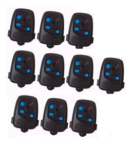 10 Controle Remoto Peccinin Portão Eletrônico Preto