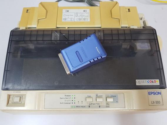 Epson Lx-300 Com Servidor De Impressão - Liga Na Rede