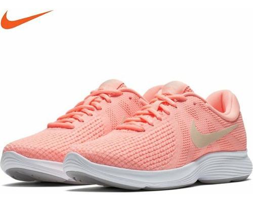 Tênis Nike Feminino Rosa Chiclete Revolution 4