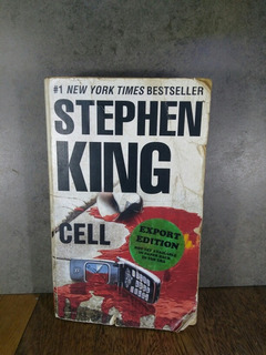 L2865 Stephen King Cell Export Edition Maltratado