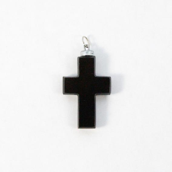 Dije Cruz Obsidiana
