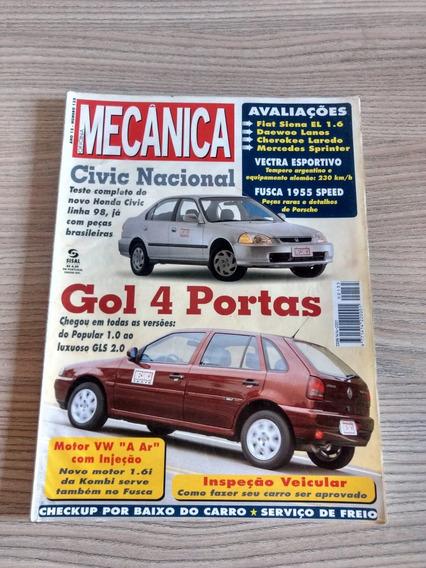 Revista Oficina Mecânica 133 Kombi Gol 4 Portas Civic 456