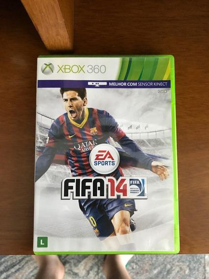 Jogo Xbox360 Fifa14 Usado