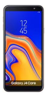 Samsung J4 Core Dourado Semi Novo 16 Gb Com Película E Capa