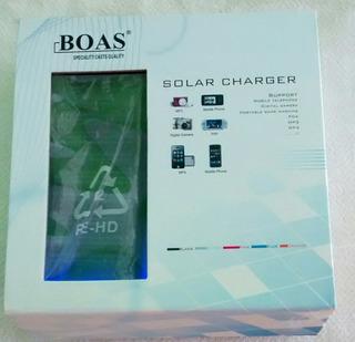 Carregador Universal Solar Para Aparelho Celulares
