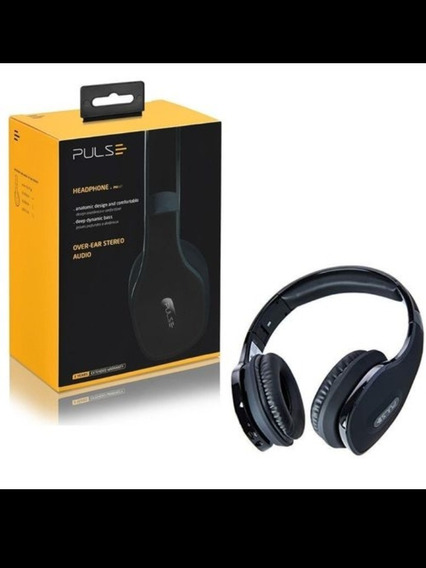 Fone De Ouvido Headphone Pulse Bluetooth Ph150 Preto
