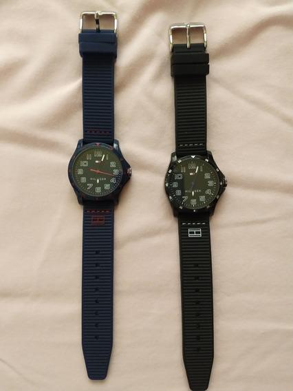 Relógios Tommy Hilfiger Azul E Preto (usados)