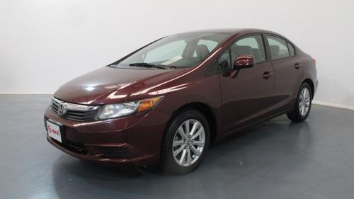 Imagen 1 de 15 de Honda Civic Ex Sedan 2012