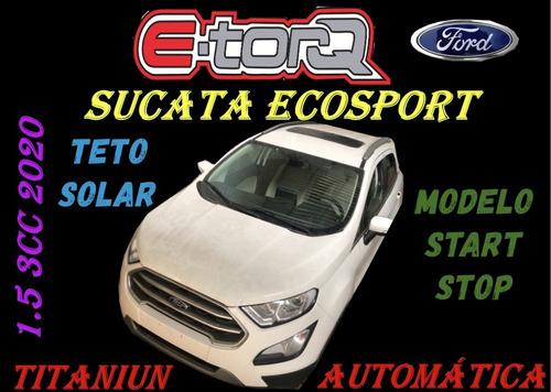Sucata Ecosport 1.5 3cc Titanium Start Stop 2020 Aut. C/teto