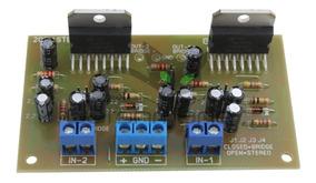 Placa Amplificador 200w Mono Ou Stereo Com Tda7294