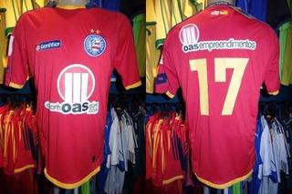 Bahia 2010 Terceira Camisa Tamanho Gg Número 17.
