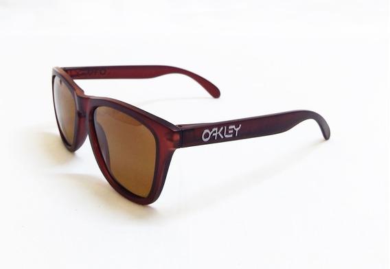 Oculos De Sol Oakley Frogskins Polarizado (varias Cores)